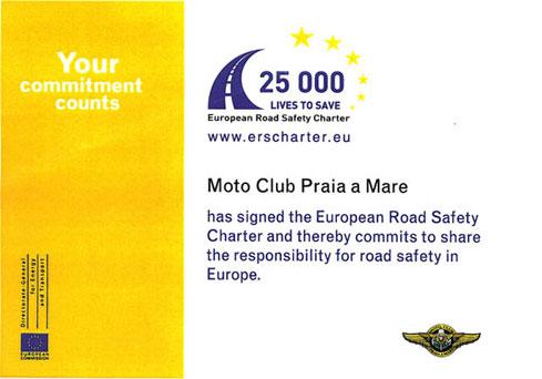 Carta europea sulla Sicurezza Stradale