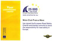 Anteprima sottoscrizione carta europea sicurezza stradale