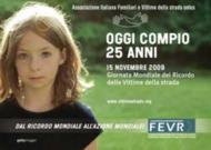 15 novembre 2009 giornata mondiale del ricordo delle vittime della strada