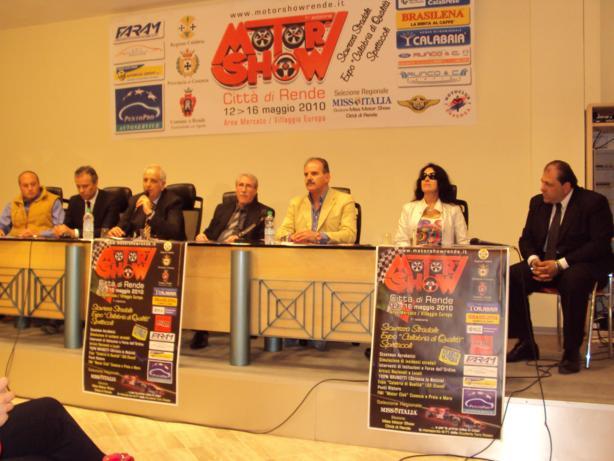 Foto Conferenza stampa motor show rende