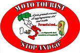 Logo Moto Tourist Stop and Go