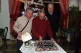 Cena di Natale 2011 - Compleanno di Anselmo
