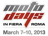 logo motodays 2013